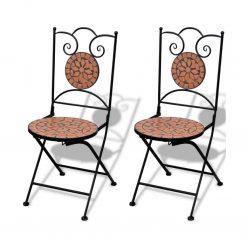 cadeira estilo Marroquino Terracota