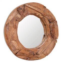 Espelho Rústico em Teca