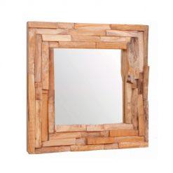 Espelho em Teca rústico