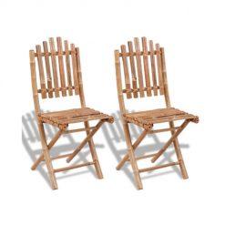 Cadeiras de Bambu Dobráveis