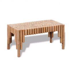 Mesa de centro em Bambu