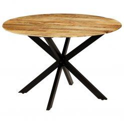 Mesa de jantar madeira de mangueira maciça