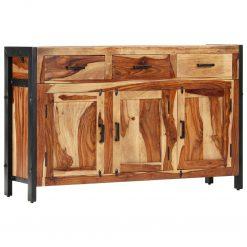Aparador 110x35x75 cm madeira de sheesham maciça - Aparadores