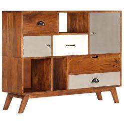 Aparador 115x35x86 cm madeira de acácia maciça - Aparadores