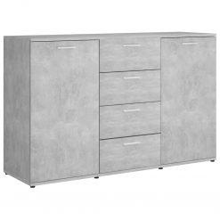 5x75 cm contraplacado cinzento cimento - Aparadores