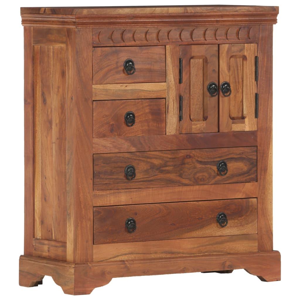 Aparador 62x30x75 cm madeira de acácia maciça - Aparadores