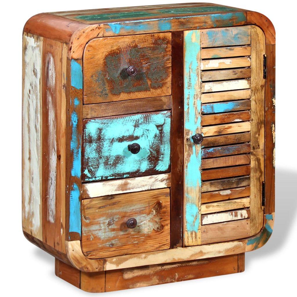 Aparador em madeira reciclada maciça - Aparadores