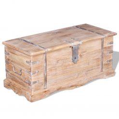 madeira maciça de acácia - Baús