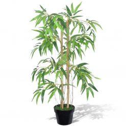 """Arvore de bambu artificial """"Twiggy"""" com vaso 90 cm - Plantas Artificiais"""