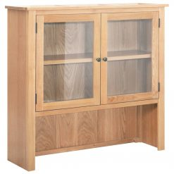5x105 cm madeira de carvalho maciça - Armários e Cristaleiras