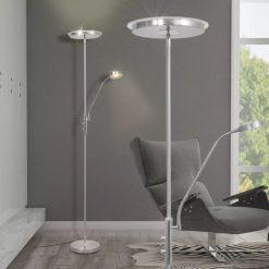 Luminária de piso regulável com LED 23W
