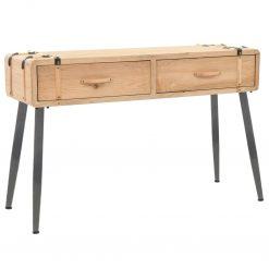 Mesa consola madeira de abeto maciça 115x40