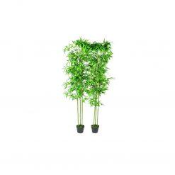 Planta Artificial em Vaso Bambu 190cm 2 peças - Plantas Artificiais