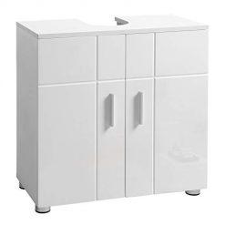 Armário Branco Casa do Banho 60 x 30 x 60 cm