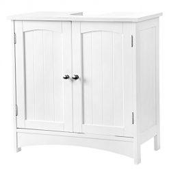 Armário Casa de Banho Branco com 2 Portas 60 x 30 x 60 cm