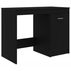 Secretária 100x50x76 cm contraplacado preto