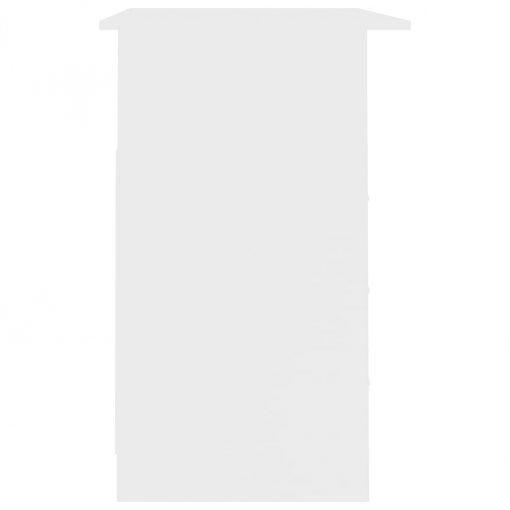 Secretária com gavetas 110x50x76 cm contraplacado branco