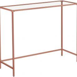Mesa de Consola Rosa 100 x 35 x 80 cm
